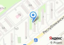 Компания «ЖЭУ №76» на карте