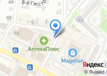 Компания «Продуктовый магазин на  Комсомольской» на карте