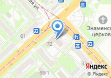 Компания «Белый аист» на карте