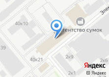 Компания «Каффа» на карте