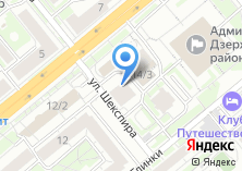 Компания «Бельвис-Сибирь» на карте