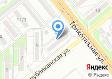 Компания «Дзержинский» на карте