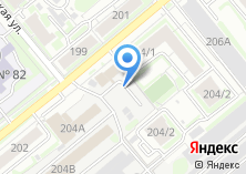 Компания «НовоМет» на карте