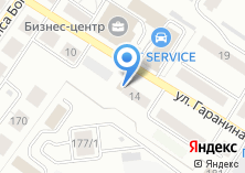 Компания «Продуктовый магазин на ул. Гаранина» на карте