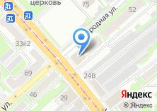 Компания «Золотофф» на карте
