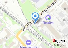Компания «Такси Экспресс» на карте