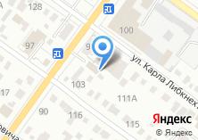 Компания «Торговый дом мебели» на карте