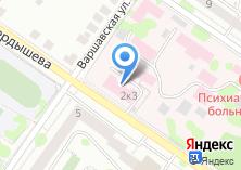Компания «Новосибирский областной наркологический диспансер» на карте