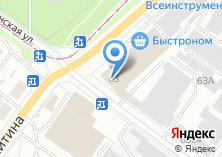Компания «VipTrans» на карте