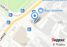 Компания «Регион-Сервис» на карте