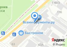 Компания «Сибирь-Авто-Сервис» на карте