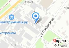 Компания «Новосибшвейторг» на карте