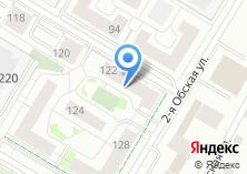 Компания «ДорХан-Новосибирск» на карте