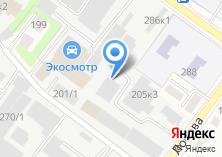 Компания «Монтэл» на карте
