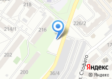Компания «Автостоянка на ул. Федосеева» на карте