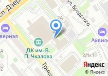 Компания «ФК» на карте