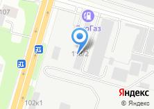 Компания «Италгаз» на карте