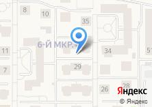 Компания «Строящийся жилой дом по ул. 6-й микрорайон (Краснообск)» на карте