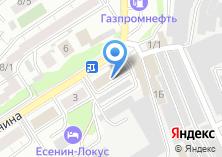 Компания «Пик-Автомастер» на карте