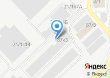 Компания «Аригато» на карте