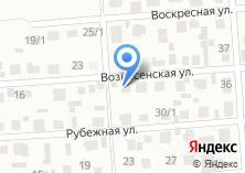Компания «Строящийся коттеджный поселок по ул. Вознесенская» на карте