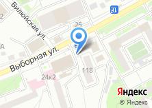 Компания «Мастерская по изготовлению ключей на ул. Выборная» на карте