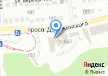 Компания «Продуктовый магазин на проспекте Дзержинского» на карте