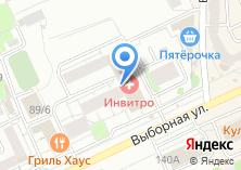 Компания «Сибвез» на карте