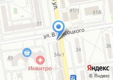 Компания «Сеть цветочных салонов» на карте