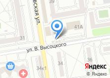 Компания «Автостоянка на ул. Высоцкого» на карте
