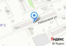 Компания «На Рябиновой» на карте