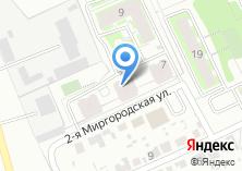 Компания «Строящийся жилой дом по ул. Миргородская 2-я» на карте