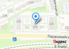 Компания «Строящийся жилой дом по ул. Первомайская» на карте
