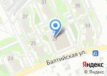 Компания «Сеть магазинов бижутерии и ремней» на карте