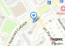 Компания «Сибирские Сети» на карте