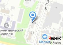 Компания «Общежитие Новосибирский электромеханический колледж транспортного строительства» на карте
