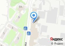 Компания «Глюкауф» на карте