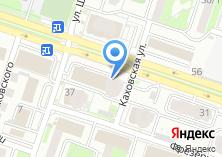 Компания «Центр автомобильных услуг» на карте