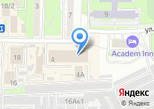 Компания «АкадемАвиа» на карте