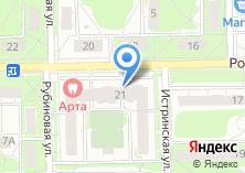Компания «fabrika music school» на карте