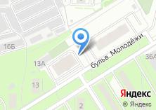 Компания «Академ-Электра» на карте