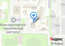 Компания «СИБАКАДЕМСТРОЙ» на карте