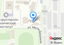 Компания «ТУРИСТ-НСК» на карте