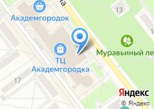 Компания «Академзамок» на карте