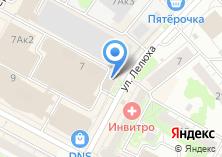 Компания «ОКНА» на карте