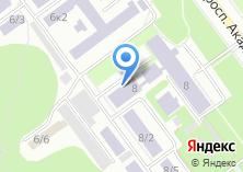 Компания «Строящееся административное здание по ул. Академика Лаврентьева проспект» на карте