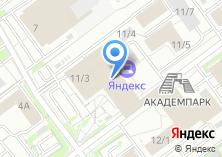 Компания «ТехноПартс» на карте