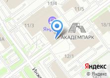 Компания «АкадемпаркСервис» на карте