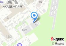 Компания «Нанопорошковые технологии» на карте