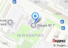 Компания «Лицей-интернат №7» на карте